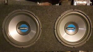 "12"" subs in box amp and digital power cap"