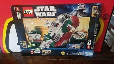 Lego Star Wars 8097 Slave I - Empty BOX Only - No Legos!