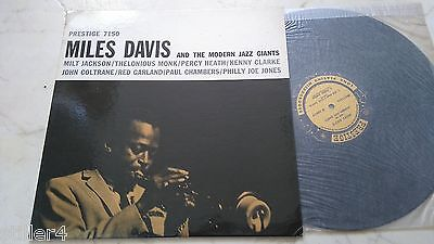 MILES DAVIS AND THE MODERN JAZZ GIANTS Same *US PRESTIGE 1st PRESS 7150*