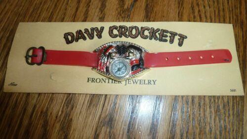 DAVY CROCKETT COMPASS FRONTIER JEWELRY NEW ON CARD RARE
