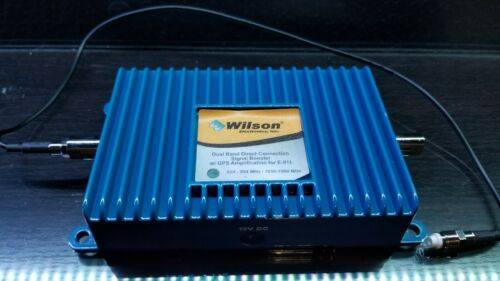 Wilson 2B1401 Direct-Connect In-Line Amplifier 800/1900 MHz w/GPS Amp for E911