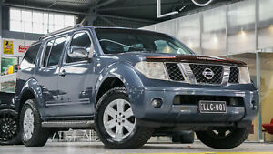 2005 Nissan Pathfinder R51 ST-L (4x4) Blue 5 Speed Automatic Wagon