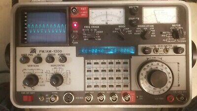 Aeroflex Ifr 1200 Amfm Communication Service Monitor Spectrum Analyzer
