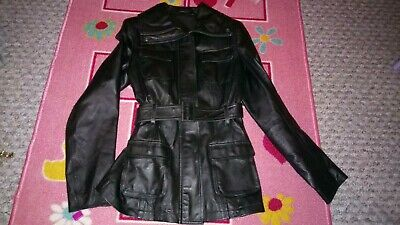 Ladies F&F Leather jacket size 6
