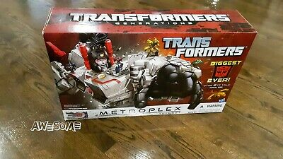 Transformers Generation Metroplex NIB 30th Anniversary