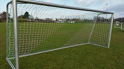 Fußball Tornetz 5x2m oben 80 unten 150 Stärke 3mm grün/ weiß
