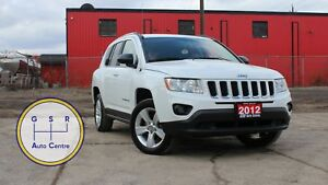 2012 Jeep Compass NORTH EDITION | 4X4 | LOW KM | XM RADIO | ALLO