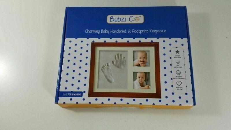 Bubzi Co Charming Baby Handprint & Footprint Keepsake Kit, NIB