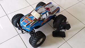RC THUNDER TIGER S28 NITRO MONSTER TRUCK Seven Hills Blacktown Area Preview