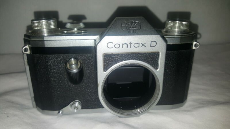 :Zeiss Ikon Contax D 35mm Film SLR Camera Body Only Untested