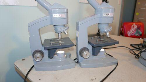 2x American Optical 60 Monocular Microscopes