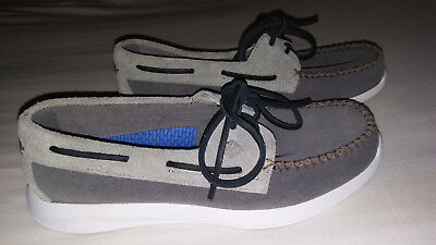 SPERRY TOP-SIDER SOJOURN CHARCOAL/ASH - SIZE 7 - NEW