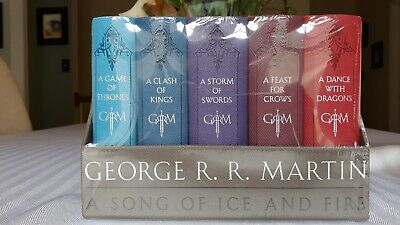 George R. R. Martin's a Game of Thrones Leather-Cloth Boxed Set (Song of Ice...