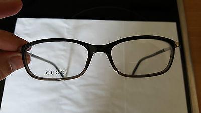Gucci Brille Brillengestell 140 GG 1376 R6T schwarz Damenbrille Damen Frauen NEU