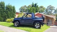 1997 Suzuki Vitara Convertible Valentine Lake Macquarie Area Preview