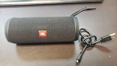 Open Box  JBL Flip 4 Bluetooth Portable Stereo Speaker - Black