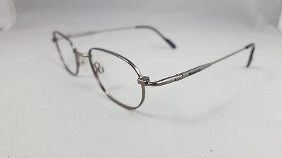 WRANGLER Designer Eyeglass Frames SILVER/BLUE 48 [] 20 135 MM Flex Tips