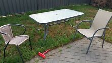 Glass outdoor table Andrews Farm Playford Area Preview