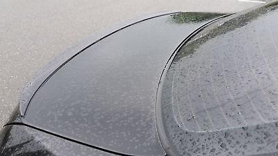 gloss SCHWARZ lackiert slim spoiler für Mercedes Benz R 230 SL Heckspoilerlippe
