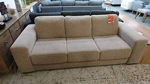CHERCARGO FABRIC 3 SEATER SOFA - HIGH END FACTORY SECOND Richmond Yarra Area Preview