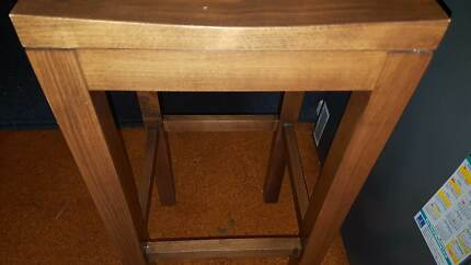 Bar Stools - 4 x Genuine Timber (Very Good Condition) and Bargain