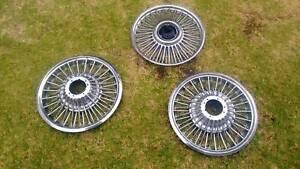 Mustang chrome wheel hubs Glenelg Holdfast Bay Preview