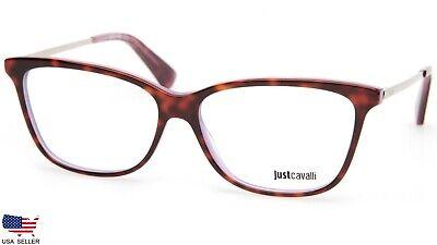 NEW Just Cavalli JC0754 A56 HAVANA /OTHER EYEGLASSES GLASSES 54-13-140 (Just Cavalli Glasses)