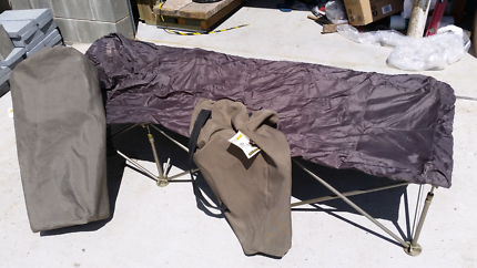 Oz Trail Camping Stretcher beds x2