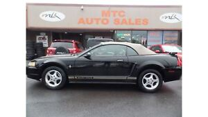 2001 Ford Mustang LEATHER, CONVERTIBLE