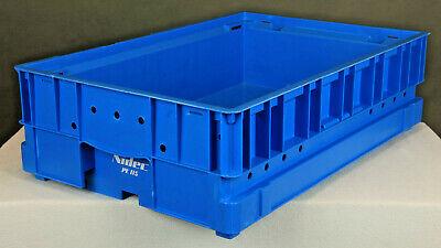 /%/%/% B-WARE /%/%/% Sichtlagerbox LF 221 schwarz 10 St SSI Schäfer Kiste Lagerkasten