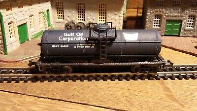 Vintage N Gauge Atlas Gulf Oil Co Single Dome Tank Car, used for sale  McHenry
