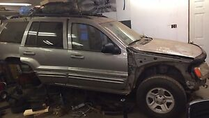 Parting out Jeep Grand Cherokee 99-04