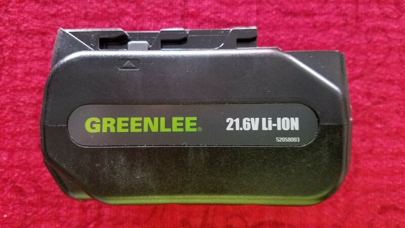 GREENLEE- LBP-216 Lithion Ion battery, 21.6v _ NEW