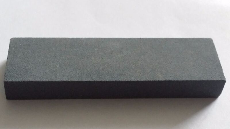 "Dental Instrument Silicone Carbide Sharpening Stone 2 7/8""x7/8""x3/8"" Fine Grit"