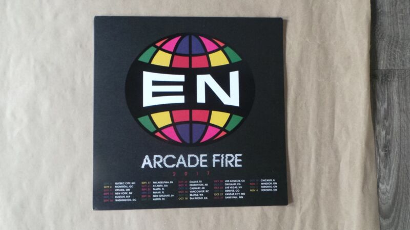 """Arcade Fire """"Everything Now"""" Poster, Unsigned, not numbered"""