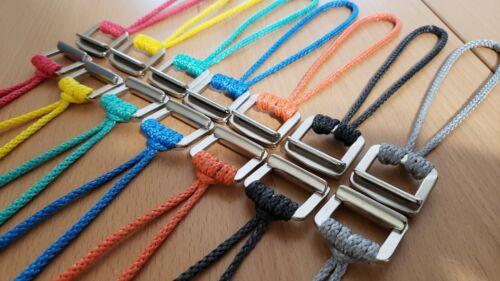 Hammock Suspension Cinch Buckles with Amsteel Loops
