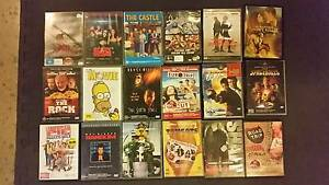 18 DVD movies, various genres. Darwin CBD Darwin City Preview