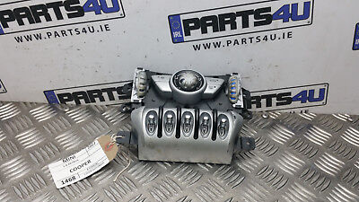 2007 MINI COOPER 1.6 PETROL R56 HEATER CONTROL PANEL A/C AND SWITCHES 3443249