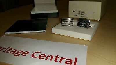 MONTBLANC CUFFLINKS Steel Collection  Rectangular  TANTALUM / Stainless 101535 ()