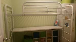 bunk bed with desk underneath Lansdowne Greater Taree Area Preview