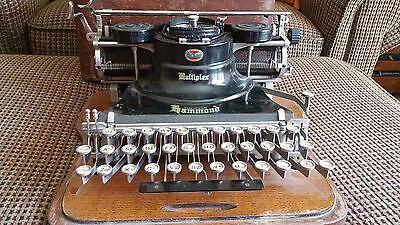 Antique Hammond Multiplex Typewriter 1917