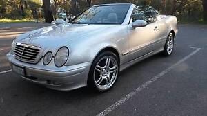 2001 Mercedes-Benz CLK320 Convertible Bullsbrook Swan Area Preview