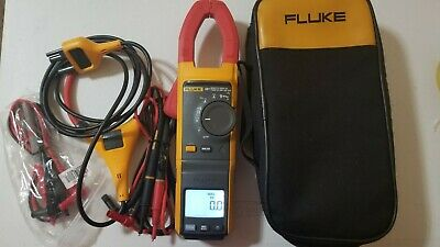 Used Fluke 381 True-rms Acdc Clamp Meter With Iflex More Tp239581 239582