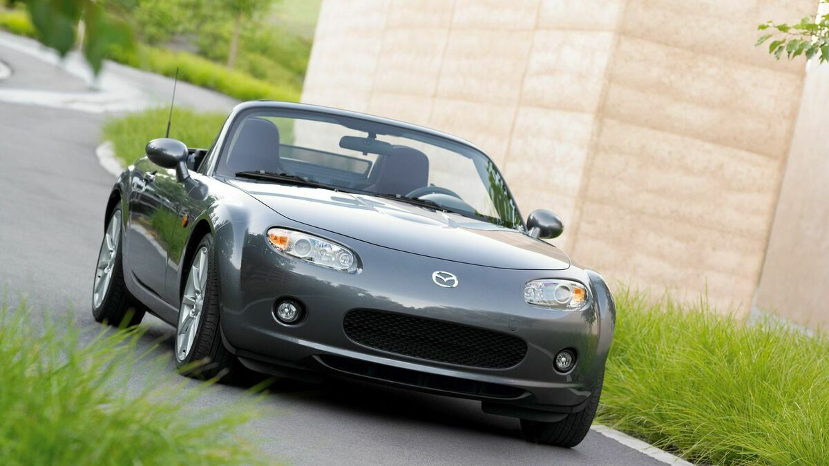Mazda MX-5 NC  Frontansicht