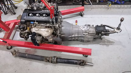 Sr20det with z32 gearbox twin plate clutch tailshaft