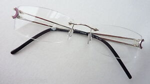 l a cool randlose bohrbrille silber gl nzend damen herren. Black Bedroom Furniture Sets. Home Design Ideas