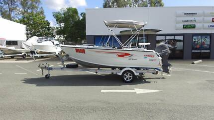 2012 Stacer 489 Nomad Side Console + Yamaha 70hp 4-Stroke - VGC!!