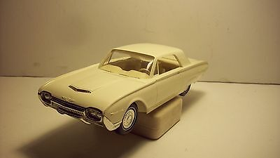 TOY/MODEL DEALER PROMO CAR-1962-FORD THUNDERBIRD-WHITE-MINT COND