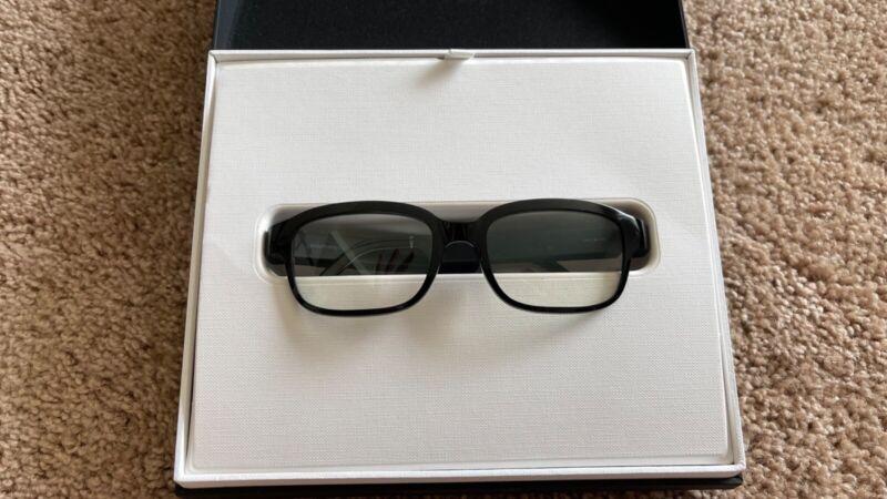 Amazon Echo Frames Smart Eyeglasses with Alexa - Black/Tortoise - Day 1 Editions