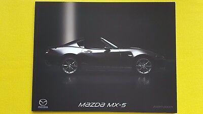 Mazda MX-5 RF sales Coupe Convertible catalogue January 2017 MINT MX 5 MX5